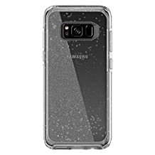 OtterBox SYMMETRY CLEAR SERIES for Samsung Galaxy S8 - Frustration Free Packaging - STARDUST (SILVER FLAKE/CLEAR)