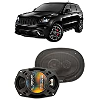 Fits Jeep Grand Cherokee 2005-2013 Front Door Factory Replacement Harmony HA-R69 Speakers