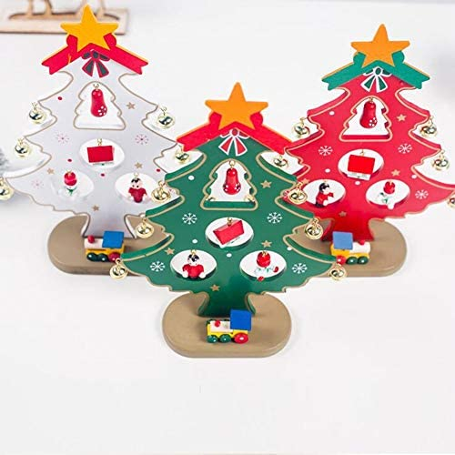 Originaltree D/écoration de Table pour Bureau Faite /à la Main avec Sapin de No/ël /à Paillettes en Bois Petit Format