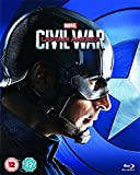 Captain America: Civil War (Captain America Limited Edition Sleeve) [Blu-ray] [2016]