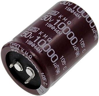 Snap In Elko Kondensator Radial 10000µf 50v 105 C Ekmq500vsn103mr40s D30x40mm 10000uf Beleuchtung