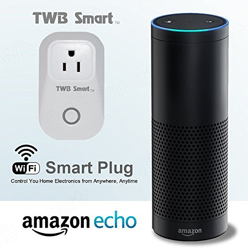 wi fi smart plug works with alexa and google home assistant smart home electrical outlet timer. Black Bedroom Furniture Sets. Home Design Ideas