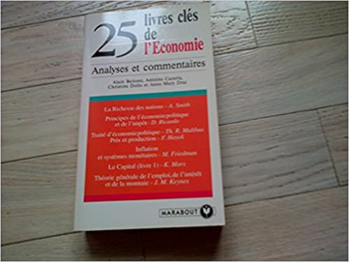 Livre 25 livres clés de l'Economie pdf epub