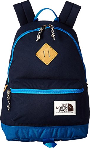 The North Face Unisex Mini Berkeley (Little Kid/Big Kid) Cosmic Blue/Blue Aster Backpack