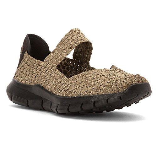 Bernie Mev Damen Champion Slip-on Freizeitschuh Bronze Multi