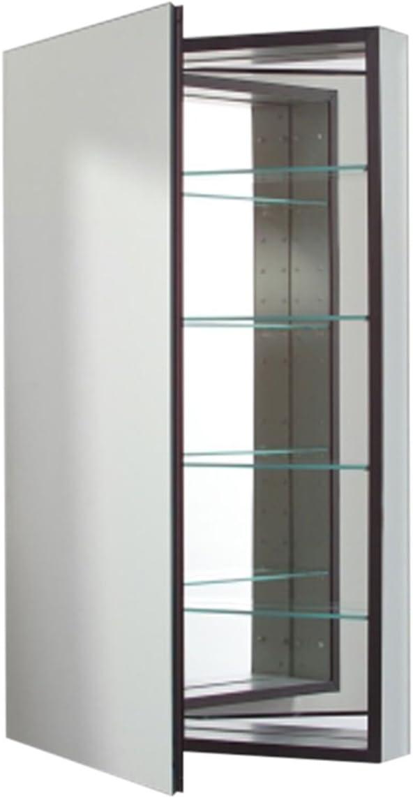 Robern CB-MP24D8FPN M-Series Flat Mirror Medicine Cabinet