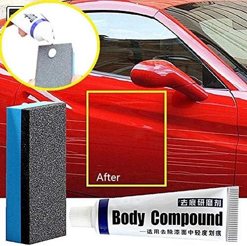 Bestt 2 Pieces Car Scratch Repair Kits Auto Body Compound Mc308 Polishing Sanding Paste Paint Care Set Scratch Remover Fix It Car Wax Auto