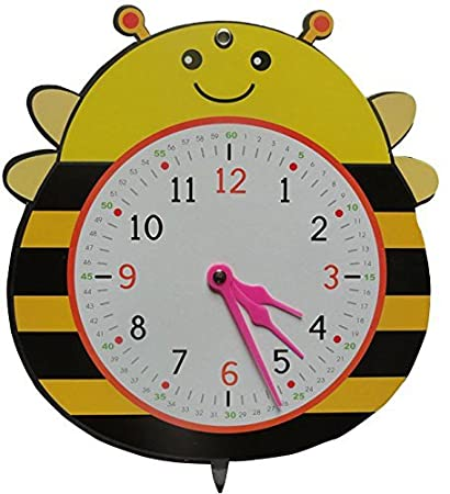 Amazon.com : Yoovi My First Activity Clock Teaching Clocks ...
