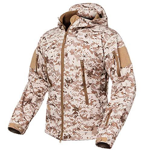 Vhkhfwd Requin Winter Jacket V5 Men's Camo Desert Tactical Shell Uniform Fleece Soft Peau De rECwTHqr