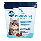 Probiotics for Cats by Well Care Pets-All Natural Probiotic Powder Supplement-Promotes Healthy Digestion, Immune Health, Joints, Skin, and Coat-Made in USA.