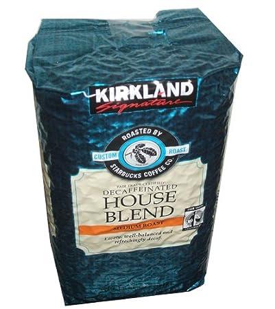 Kirkland Signature Dacaffeinated House Blend Coffee