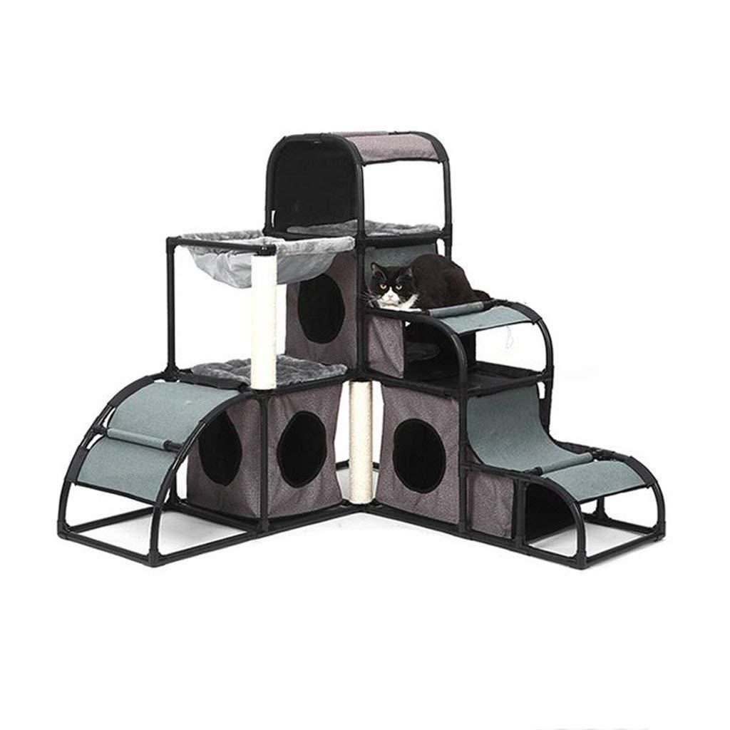 Taihang Cat Climbing Frame Cat Cat Cat Nido Cat House Cat Rack Splicable Cat Scratch Board Giocattolo per Gatti Canile Pet Supplies Pet Bed Pet House 133017