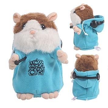 Mzamzi - Gran valor animales de peluche dj rapper mimetismo mascotas hamster electronic speak record juguete