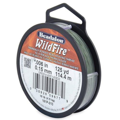 UPC 035926095779, Beadalon WildFire .006-Inch Green, 125-Yard