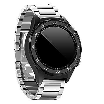 Huawei Watch2 HOCO pinhen pulsera de acero inoxidable correa de banda de metal con liberación rápida 20 mm banda de reloj para Huawei reloj 2