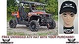 Super ATV HISUN Strike 3'' Lift Kit and FREE Unhinged ATV HAT! bundle 2 items