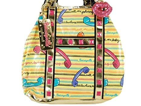 Amazon.com: Betseyville Call Me, Betsey Tote,Yellow,one size ...