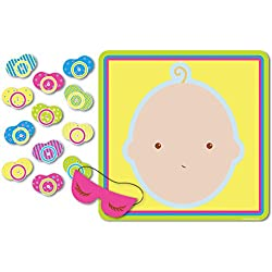 "Pin The Pacifier Baby Shower Game, 17"" x 18.5"""
