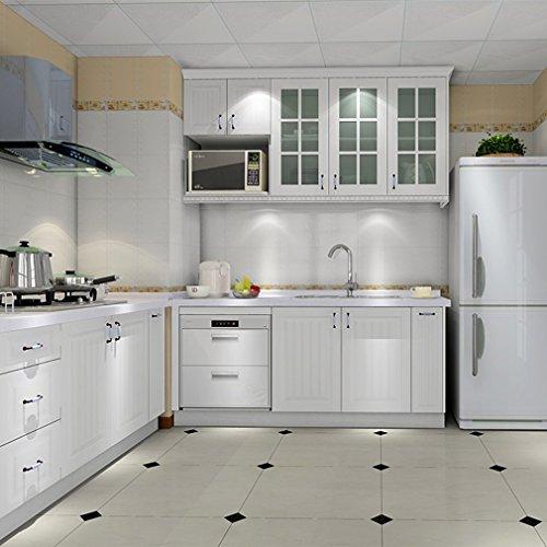 Mueble cocina alto - Muebles pintados en blanco ...