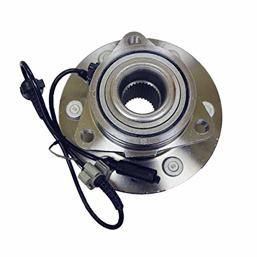 (LG515096 x 1 Front Left or Right Side Wheel Bearing Hub Assembly (6 Lug 4WD) Fit 07-14 Escalade Chevy Suburban 1500 Tahoe Yukon XL, 07-13 Avalanche Silverado Sierra)