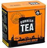 Cornish Tea Caddy with 2 x 80 Cornish Tea Smugglers Brew Teabags