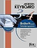 Modern Keyboard: Beiheft 3-4 zum Schulprogramm