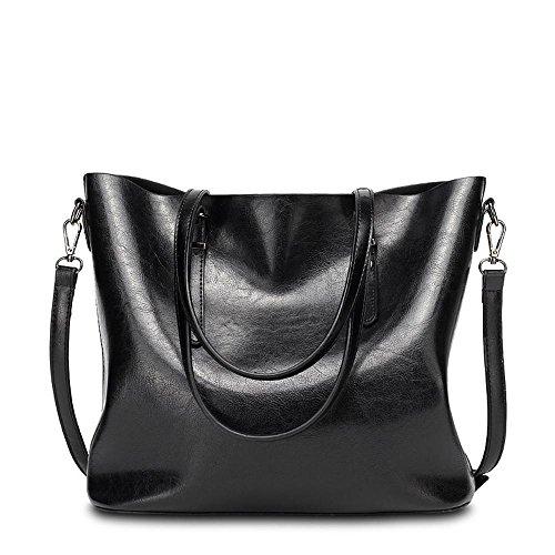 Aoligei PU cuir unique sac à bandoulière simple centaines grande capacité paquet rétro singles épaule Messenger sac à main E