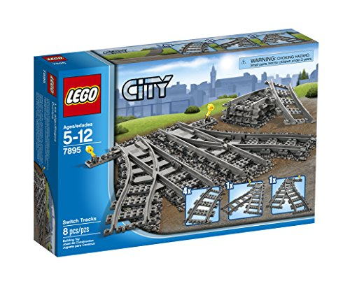 Switch Control Remote Track (LEGO City Switch Tracks 7895 Train Toy Accessory)