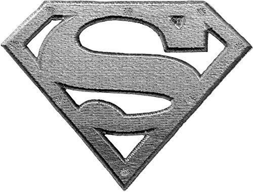 (Application DC Comics Superman Metal Logo Patch)