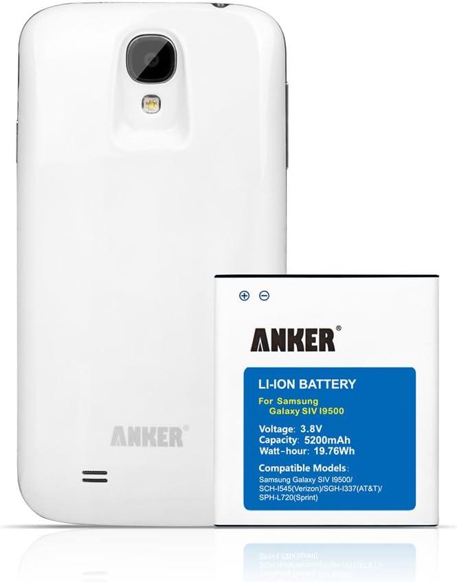 Anker 70SMGLXS4 - Batería para móvil Samsung Galaxy S4, GT-I9500 ...
