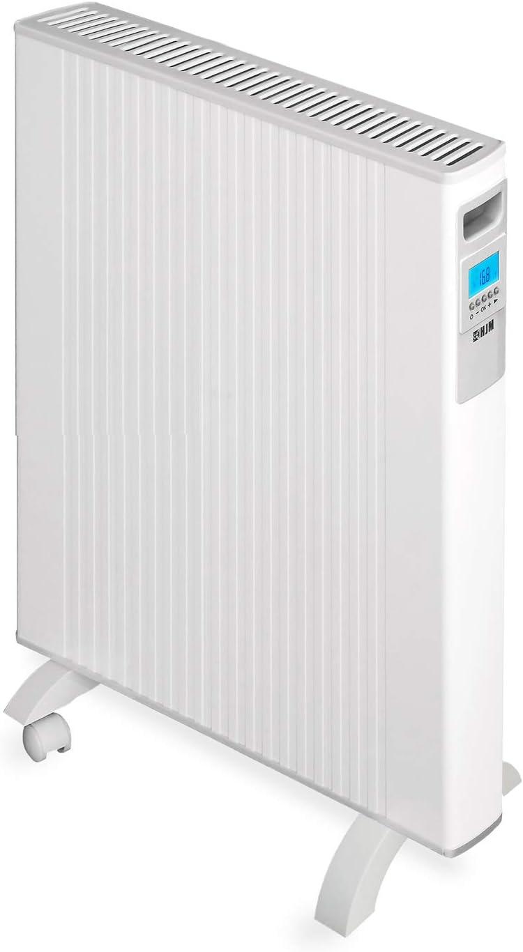HJM Emisor térmico móvil de bajo consumo ALEA 1500 W | Pantalla LCD Programable | Diseño extraplano