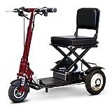 E-Wheels - EW-01 Speedy Folding Portable Scooter - 3-Wheel