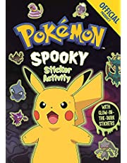 Official Pokémon Spooky Sticker Book