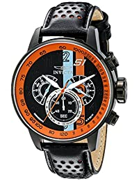 Invicta Men's 19288 S1 Rally Analog Display Japanese Quartz Black Watch