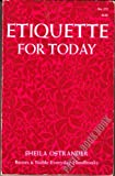 Etiquette for Today, Sheila Ostrander, 0064632725