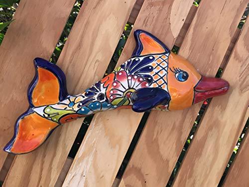 Talavera Ceramic Dolphin 15
