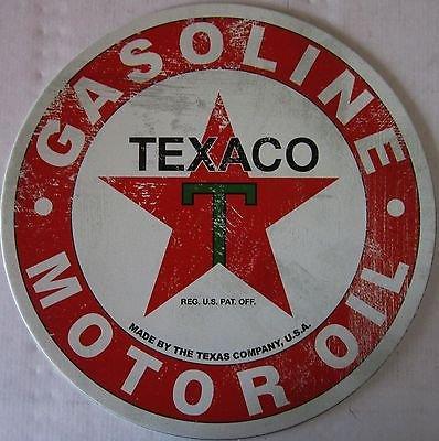 texaco-gasoline-motor-oil-round-tin-sign-s98565