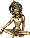 Aone India Lord Indra - Brass Statue + Cash Envelope (Pack Of 10)
