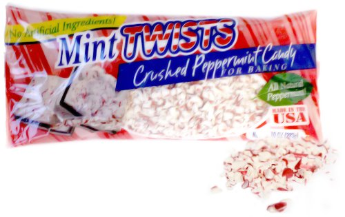 Crushed Peppermint Candy - Atkinson Mint Twists Crushed Peppermint Candy for Baking