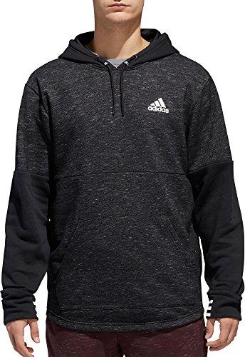 adidas Men's Post Game Fleece Hoodie(Black, Medium) Adidas Big Game Fleece