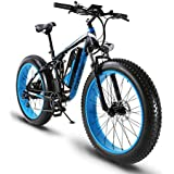 Extrbici XF800 1000W 48V13AH Electric Mountain Bike Full Suspension