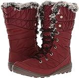 Columbia Womens Heavenly Organza II Omni Heat Snow Boot, Deep Rust/Element, 8 B(M) US