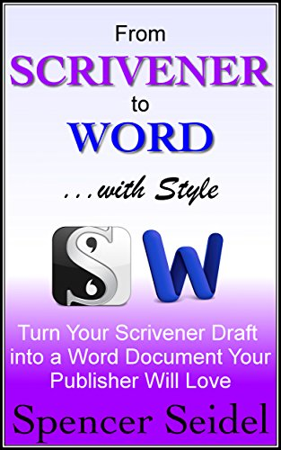 Scrivener Word Style Document Publisher ebook product image