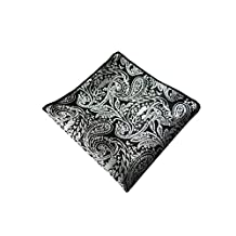 Sitong men's suit polyester silk printed pocket square handkerchief(KHP-131)