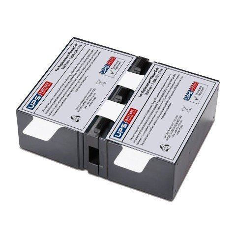 RBC123 battery pack for APC Power-Saving Back UPS XS 1000VA