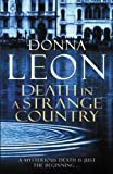 Death in a Strange Country by Donna Leon front cover