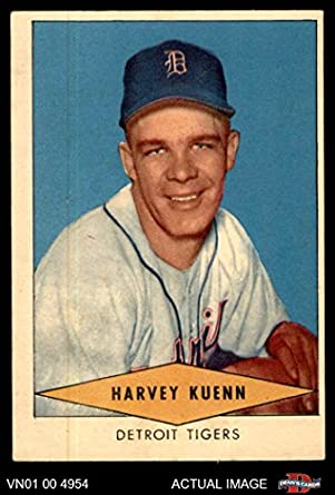 Amazoncom 1954 Red Heart Harvey Kuenn Detroit Tigers