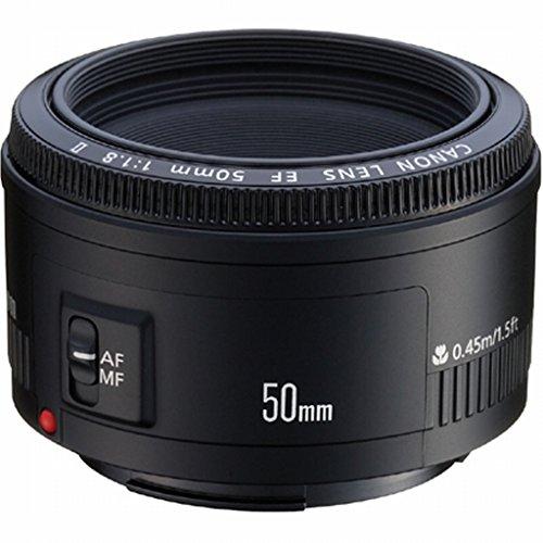 Canon EF 50mm f/1.8 II Standard AutoFocus Fixed Lens - Inter