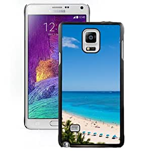 New Beautiful Custom Designed Cover Case For Samsung Galaxy Note 4 N910A N910T N910P N910V N910R4 With Waikiki Beach And Pacific Ocean Phone Case