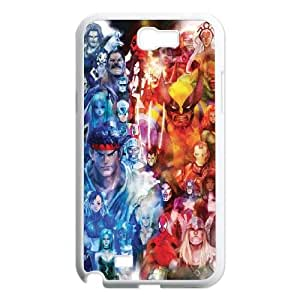 Samsung Galaxy N2 7100 Cell Phone Case White Marvel Heroes 2 LSO7742782